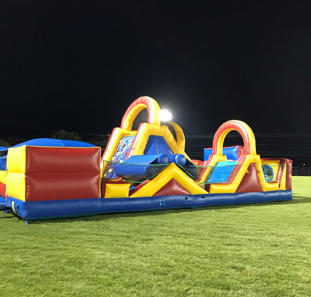 Extreme Obstacle Course - Side View